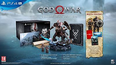 Einfach und sicher online bestellen: God of War Collectors Ed. + DLC (AT-PEGI) in Österreich kaufen.