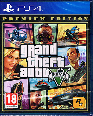 Einfach und sicher online bestellen: Grand Theft Auto V Premium Edition (AT-PEGI) in Österreich kaufen.