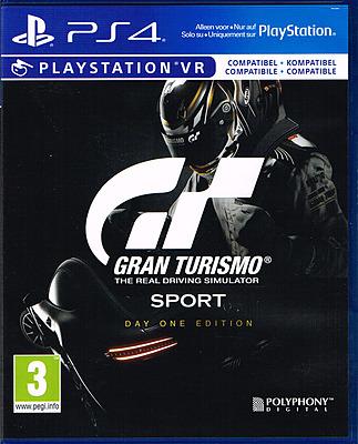 Einfach und sicher online bestellen: Gran Turismo Sport Day One Edition + 5 DLCs (AT) in Österreich kaufen.