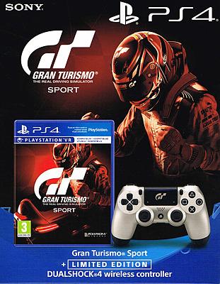 Einfach und sicher online bestellen: Gran Turismo Sport + Dualshock 4 GT Sport Limited in Österreich kaufen.