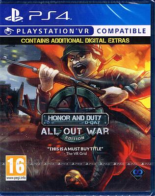 Einfach und sicher online bestellen: Honor & Duty: D-Day All Out War Edition (PEGI) in Österreich kaufen.