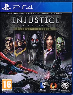 Einfach und sicher online bestellen: Injustice: Gods Among Us Ultimate Edition (AT) in Österreich kaufen.