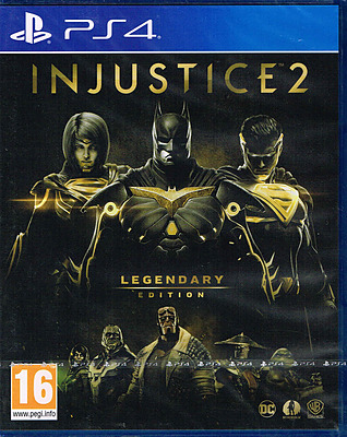 Einfach und sicher online bestellen: Injustice 2 Legendary Edition (AT-PEGI) in Österreich kaufen.