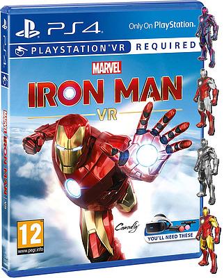 Einfach und sicher online bestellen: Iron Man VR + 5 Boni (AT-PEGI) in Österreich kaufen.