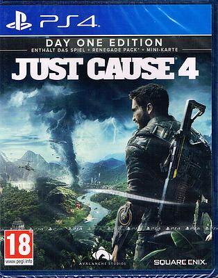 Einfach und sicher online bestellen: Just Cause 4 Day 1 Edition (AT-PEGI) in Österreich kaufen.