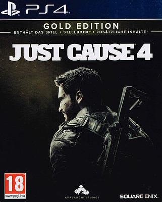 Einfach und sicher online bestellen: Just Cause 4 Gold Edition + 5 DLCs (AT-PEGI) in Österreich kaufen.