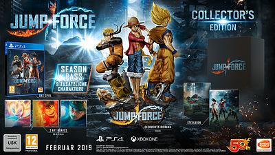 Einfach und sicher online bestellen: Jump Force Collectors Edition in Österreich kaufen.