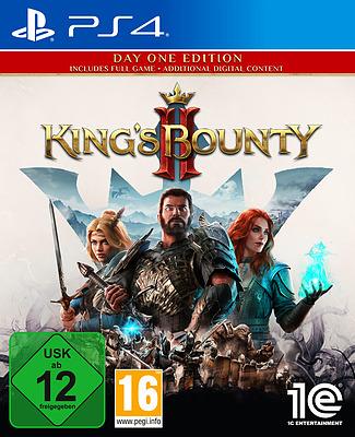 Einfach und sicher online bestellen: King's Bounty II DayOne Edition + 5 Boni in Österreich kaufen.