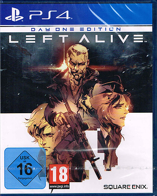 Einfach und sicher online bestellen: Left Alive Day One Edition + 5 DLCs in Österreich kaufen.