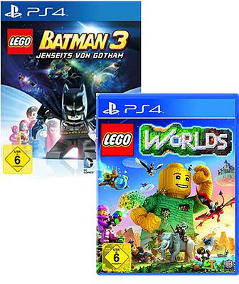Einfach und sicher online bestellen: Lego Batman 3 + Lego Worlds in Österreich kaufen.