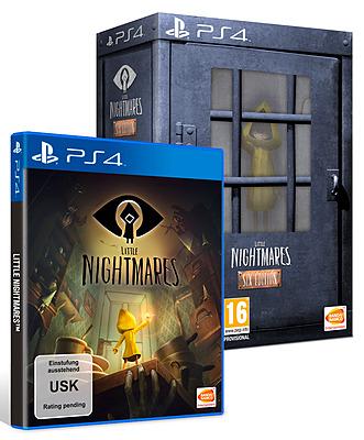 Einfach und sicher online bestellen: Little Nightmares Six Edition + 3 DLCs in Österreich kaufen.