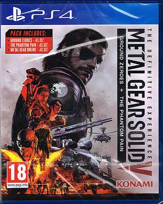 Einfach und sicher online bestellen: Metal Gear Solid 5 The Definitive Experience (AT) in Österreich kaufen.