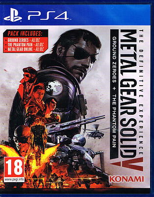 Einfach und sicher online bestellen: Metal Gear Solid 5 Definitive Edition (PEGI) in Österreich kaufen.