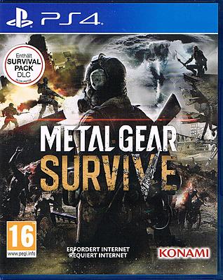 Einfach und sicher online bestellen: Metal Gear Survive + DLC (AT-PEGI) in Österreich kaufen.