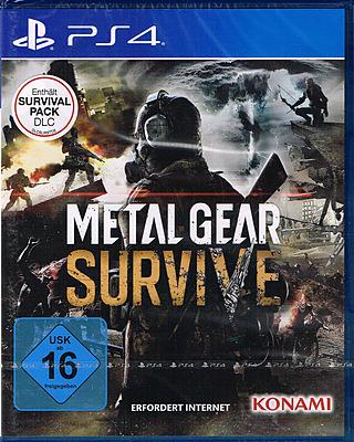 Einfach und sicher online bestellen: Metal Gear Survive + DLC in Österreich kaufen.