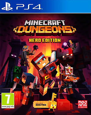 Einfach und sicher online bestellen: Minecraft Dungeons Hero Edition (PEGI) in Österreich kaufen.