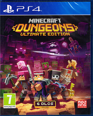 Einfach und sicher online bestellen: Minecraft Dungeons Ultimate Edition (PEGI) in Österreich kaufen.