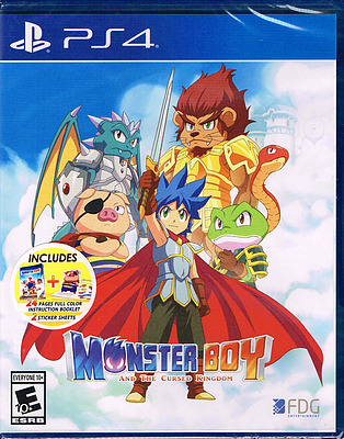 Einfach und sicher online bestellen: MonsterBoy: The Cursed Kingdom (US-Import) in Österreich kaufen.