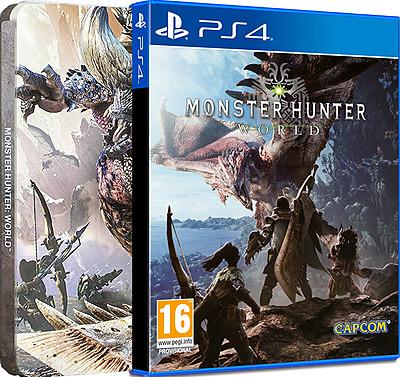Einfach und sicher online bestellen: Monster Hunter: World Steelbook Edition (AT-PEGI) in Österreich kaufen.