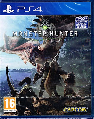 Einfach und sicher online bestellen: Monster Hunter: World (PEGI) in Österreich kaufen.