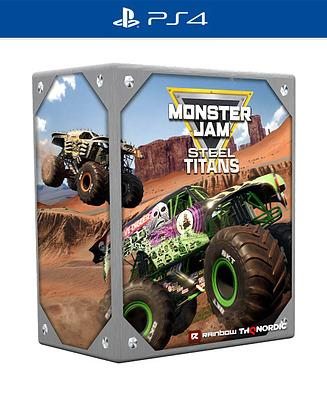 Einfach und sicher online bestellen: Monster Jam Steel Titans Collectors Edition in Österreich kaufen.