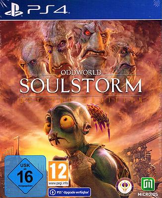 Einfach und sicher online bestellen: Oddworld: Soulstorm DayOne Steelbook Edition in Österreich kaufen.