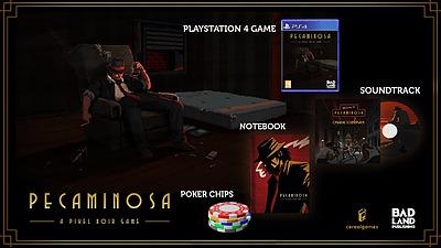 Einfach und sicher online bestellen: Pecaminosa - A Pixel Noir Game Collectors (PEGI) in Österreich kaufen.