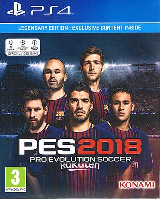 Einfach und sicher online bestellen: Pro Evolution Soccer 2018 Legendary Edition (AT) in Österreich kaufen.