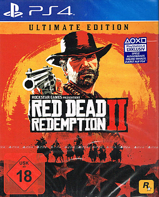Einfach und sicher online bestellen: Red Dead Redemption 2 Ultimate Ed. mit 32 DLCs in Österreich kaufen.