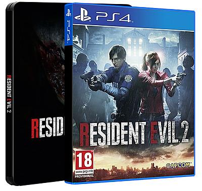 Einfach und sicher online bestellen: Resident Evil 2 Remake Steelbook (AT-PEGI) in Österreich kaufen.