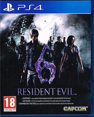 Einfach und sicher online bestellen: Resident Evil 6 HD (AT-PEGI) in Österreich kaufen.