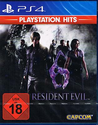 Einfach und sicher online bestellen: Resident Evil 6 HD PlayStation Hits in Österreich kaufen.