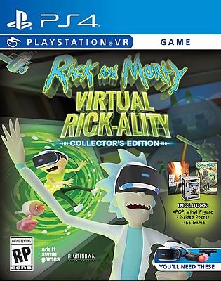Einfach und sicher online bestellen: Rick & Morty Virtual Rick-ality Collectors Edition in Österreich kaufen.
