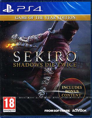 Einfach und sicher online bestellen: Sekiro: Shadows Die Twice GOTY Edition (PEGI) in Österreich kaufen.