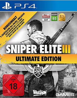 Einfach und sicher online bestellen: Sniper Elite 3 Afrika Ultimate Edition + 9 DLCs in Österreich kaufen.