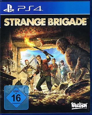 Einfach und sicher online bestellen: Strange Brigade (AT-PEGI) in Österreich kaufen.