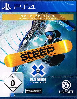 Einfach und sicher online bestellen: Steep X Games Gold Edition (AT-PEGI) in Österreich kaufen.