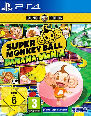 Einfach und sicher online bestellen: Super Monkey Ball Banana Mania Launch Edition in Österreich kaufen.