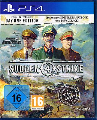 Einfach und sicher online bestellen: Sudden Strike 4 Limited Day 1 Edition in Österreich kaufen.
