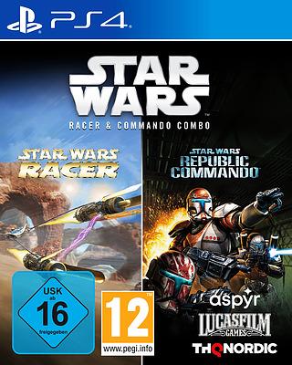 Einfach und sicher online bestellen: Star Wars Racer & Commando Combo in Österreich kaufen.