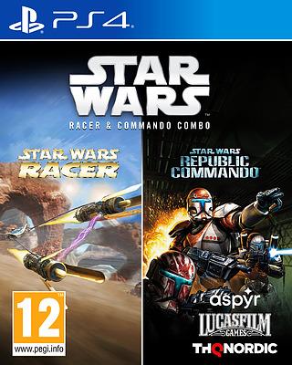 Einfach und sicher online bestellen: Star Wars Racer & Commando Combo (PEGI) in Österreich kaufen.