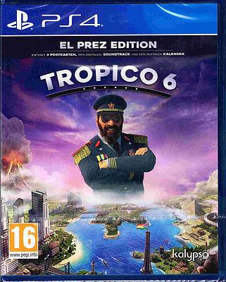 Einfach und sicher online bestellen: Tropico 6 El Prez Edition (AT-PEGI) in Österreich kaufen.