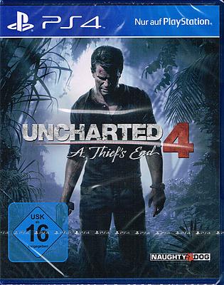 Einfach und sicher online bestellen: Uncharted 4: A Thief's End in Österreich kaufen.