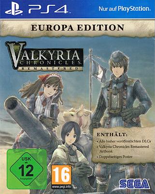 Einfach und sicher online bestellen: Valkyria Chronicles Remaster Europa Edition in Österreich kaufen.