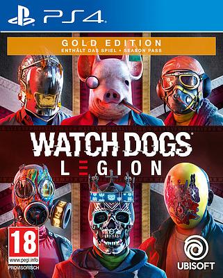 Einfach und sicher online bestellen: Watch Dogs Legion Gold Edition (AT-PEGI) in Österreich kaufen.