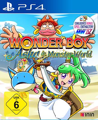 Einfach und sicher online bestellen: Wonder Boy - Asha in Monster World in Österreich kaufen.