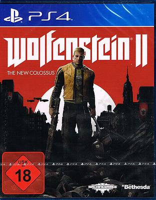 Einfach und sicher online bestellen: Wolfenstein II: The New Colossus + DLC (AT-PEGI) in Österreich kaufen.