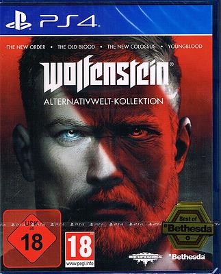 Einfach und sicher online bestellen: Wolfenstein Alternativwelt-Kollektion in Österreich kaufen.
