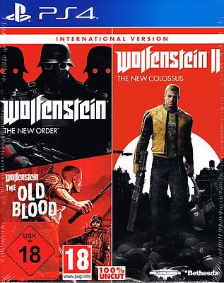 Einfach und sicher online bestellen: Wolfenstein Triple Pack (International) in Österreich kaufen.
