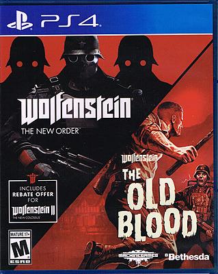 Einfach und sicher online bestellen: Wolfenstein: The Two Pack (US-Import) in Österreich kaufen.